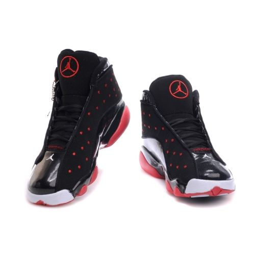 Air Jordan Retro 13 Shoes 36 Black Red White
