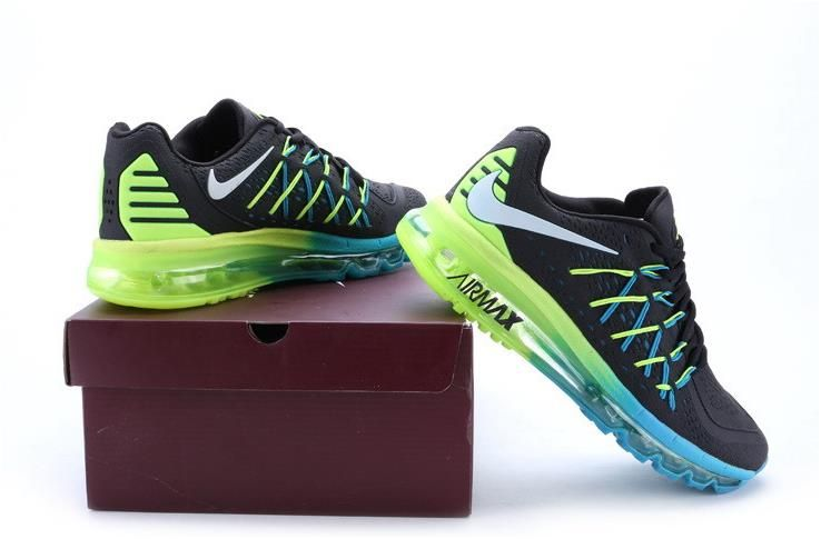 Nike Air Max 2015 Blue Black Green1