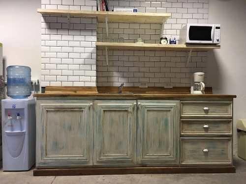 Hermoso Mueble Cocina Vintage - Tipo Antiguo - $ 13.000,00 en ...