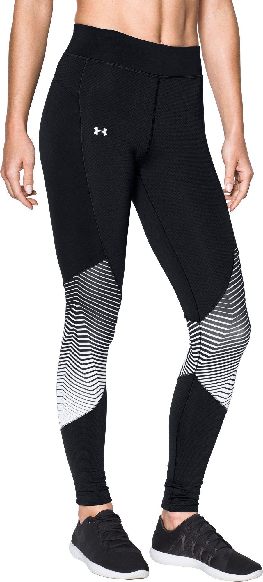 0d686f986e0cf1 Under Armour Women's ColdGear Reactor Graphic Leggings, Size: Medium, Black