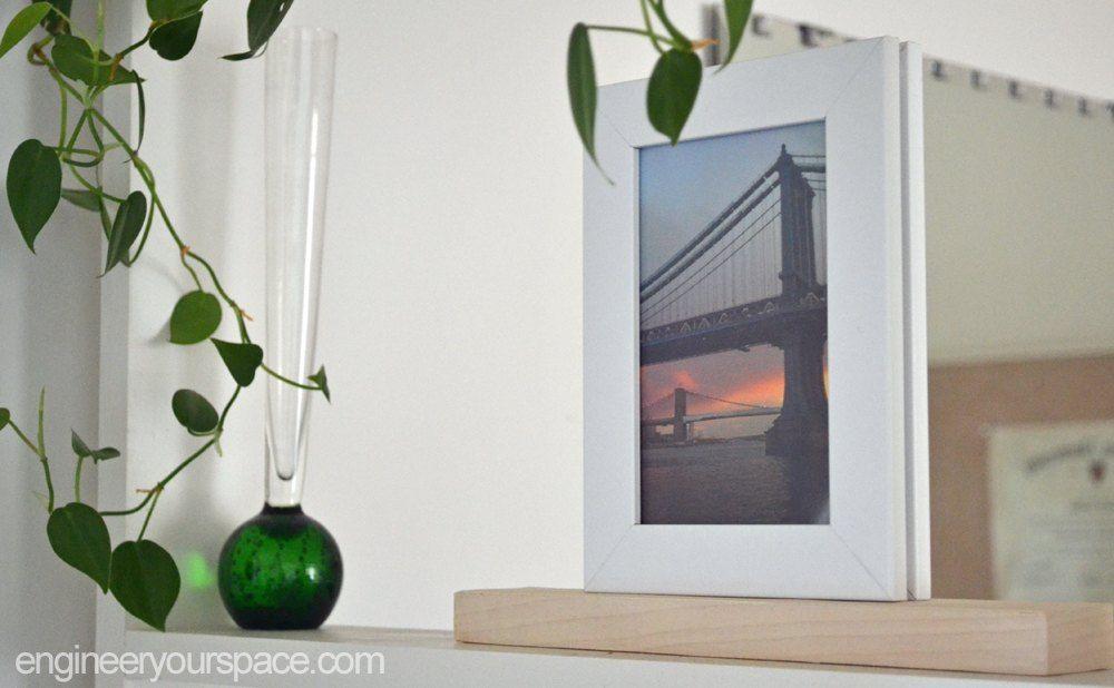 Easy Diy Double Sided Picture Frame Diy Decor Pinterest Diy