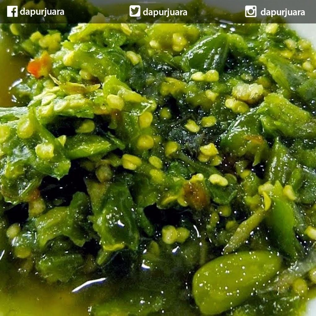 Dapur Juara On Instagram Sambal Hijau Bahan 100 Gram Cabai Hijau Dibuang Bijinya Lalu Diiris 5 Siung Bawang Merah 2 Buah Sambal Malay Food Recipes
