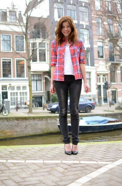 Outfits with red items - Trendtation