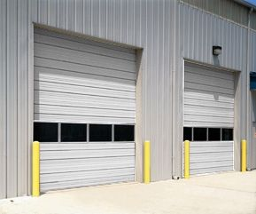 Sectional Steel Insulated Door Model 432 Sectional Door Garage Door Installation Garage Doors