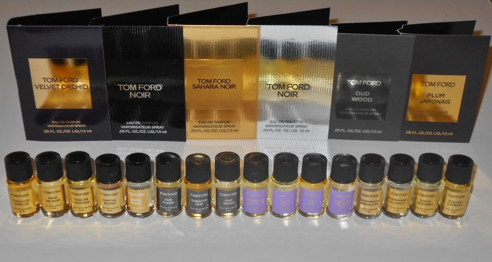 Details About Tom Ford Private Blend Eau De Parfum 4 Ml Mini Bottles