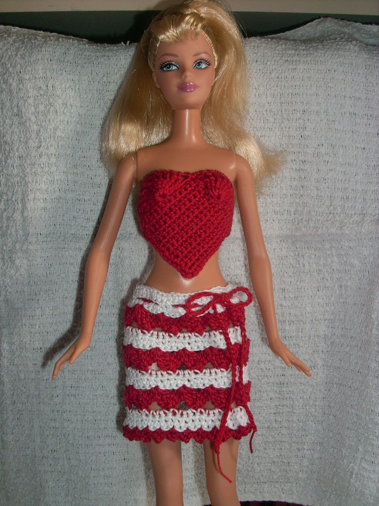Crochet for barbie the belly button body type hearts crochet for barbie the belly button body type hearts valentines day bankloansurffo Image collections