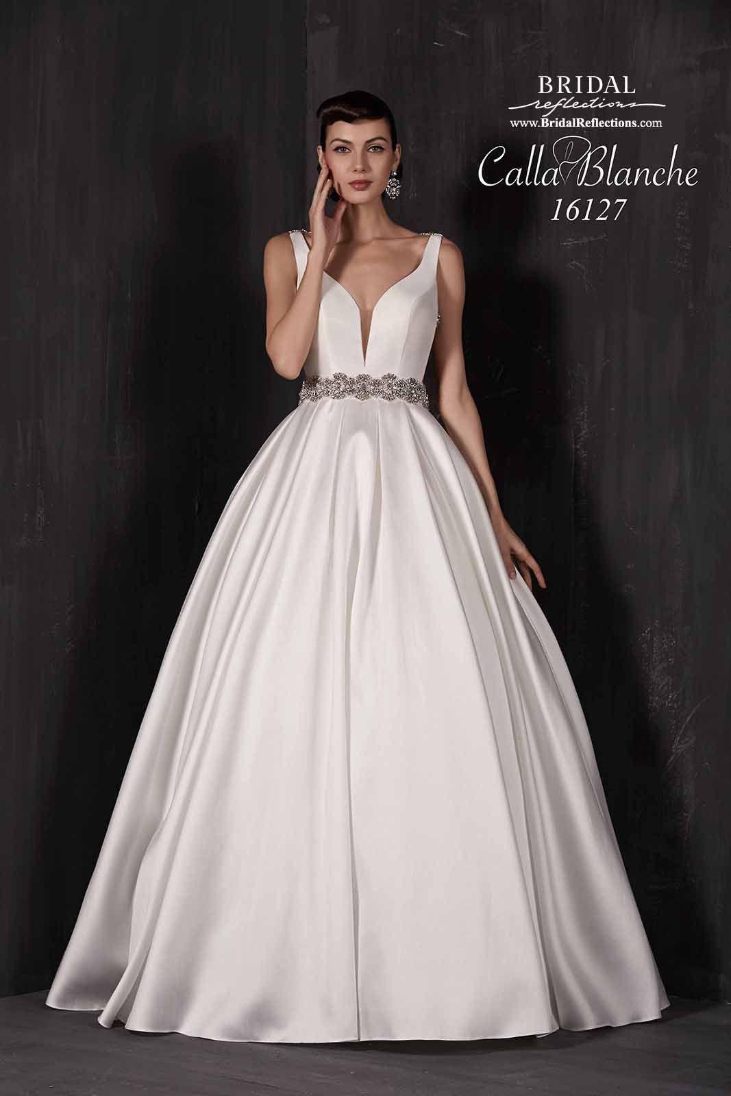 Traditional tunisian wedding dress  Calla Blanche Wedding Dress Collection  Bridal Reflections