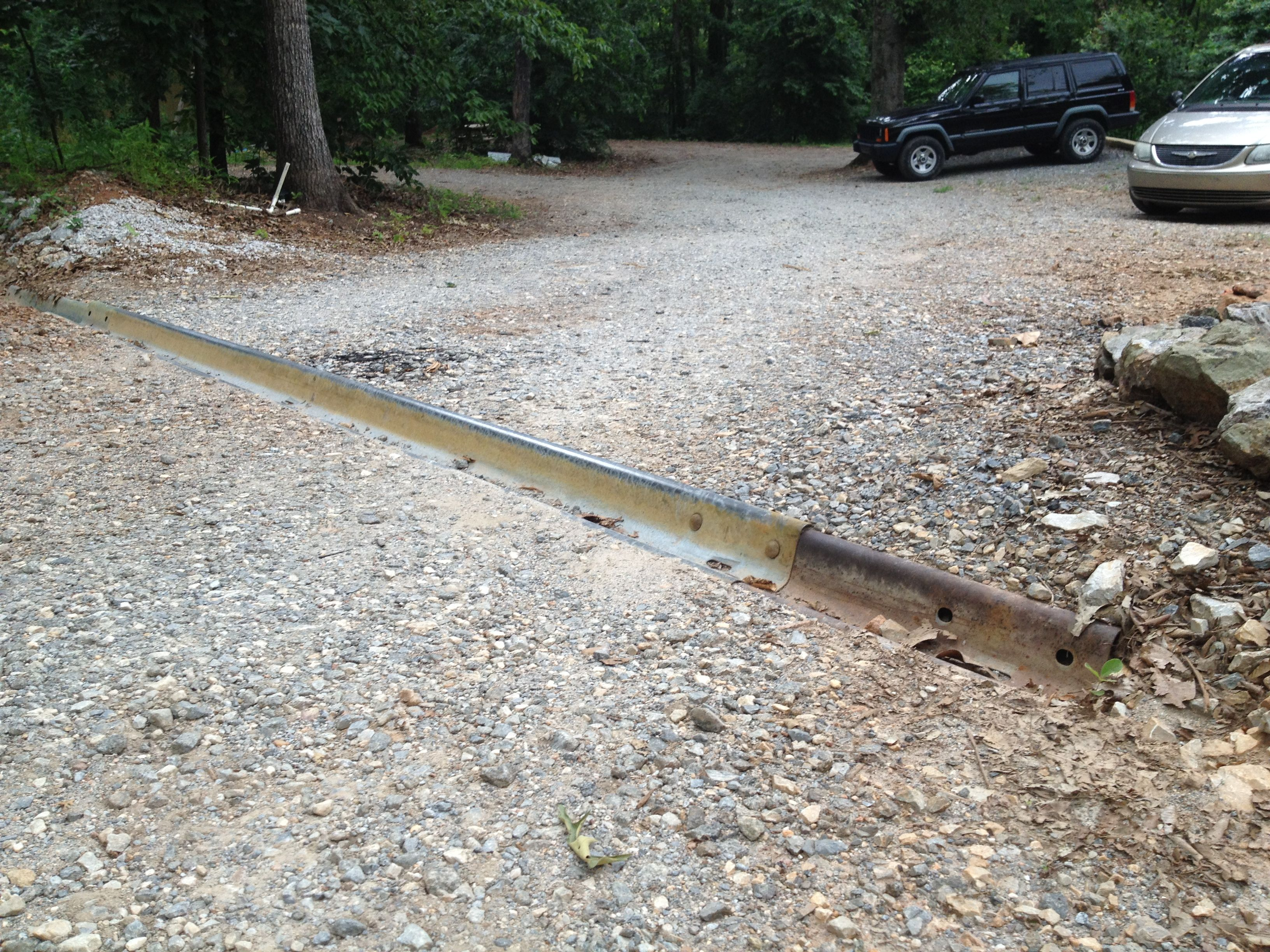 Control Driveway Wash With Easily Installed Cheap Waterbreaks Driveway Drain Driveway Yard Drainage