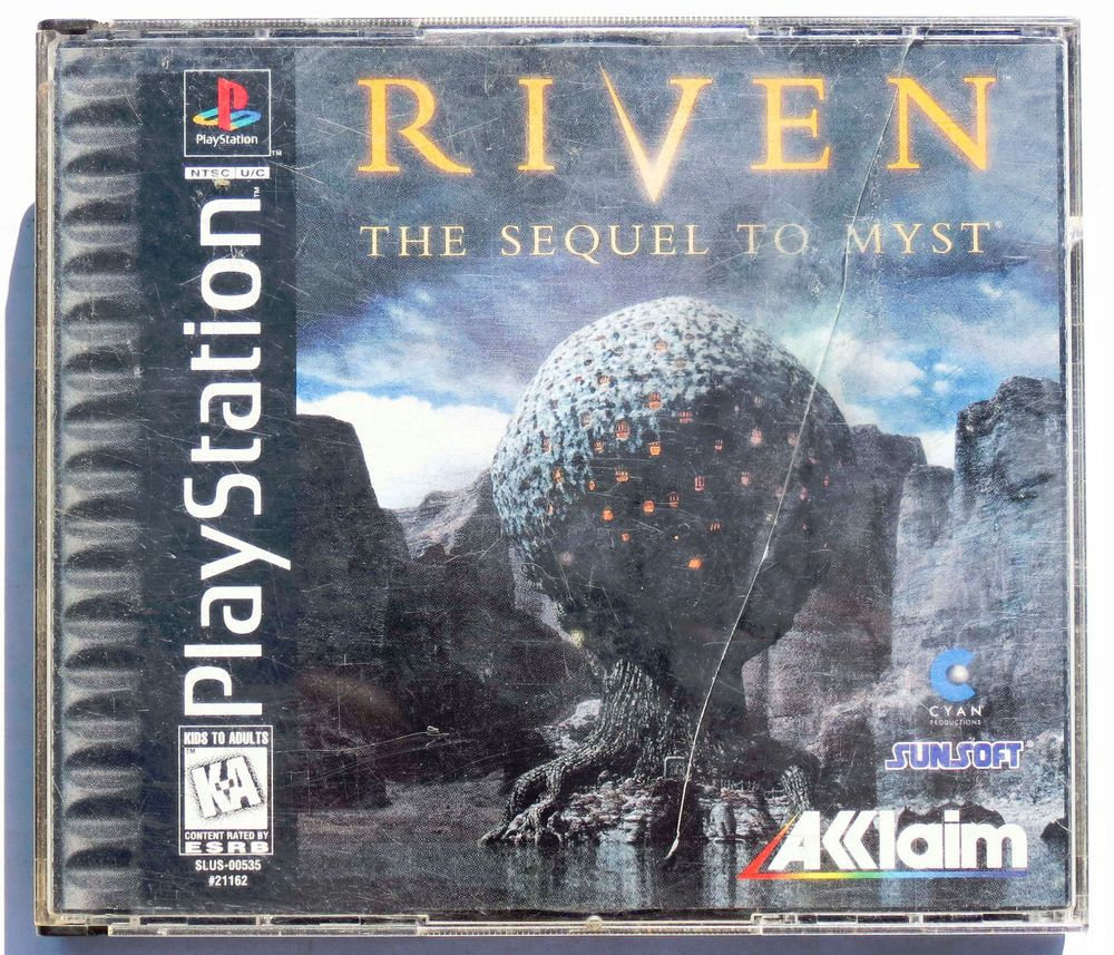 Riven the sequel to myst 5 disc set complete in case w manual riven the sequel to myst 5 disc set complete in case w manual playstation 1 ps1 sonyps1 fandeluxe Image collections