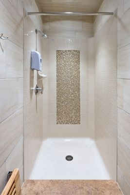 Shower Threshold Height A Better Shower From The Ground Up Stylish Bathroom Shower Renovation Traditional Bathroom