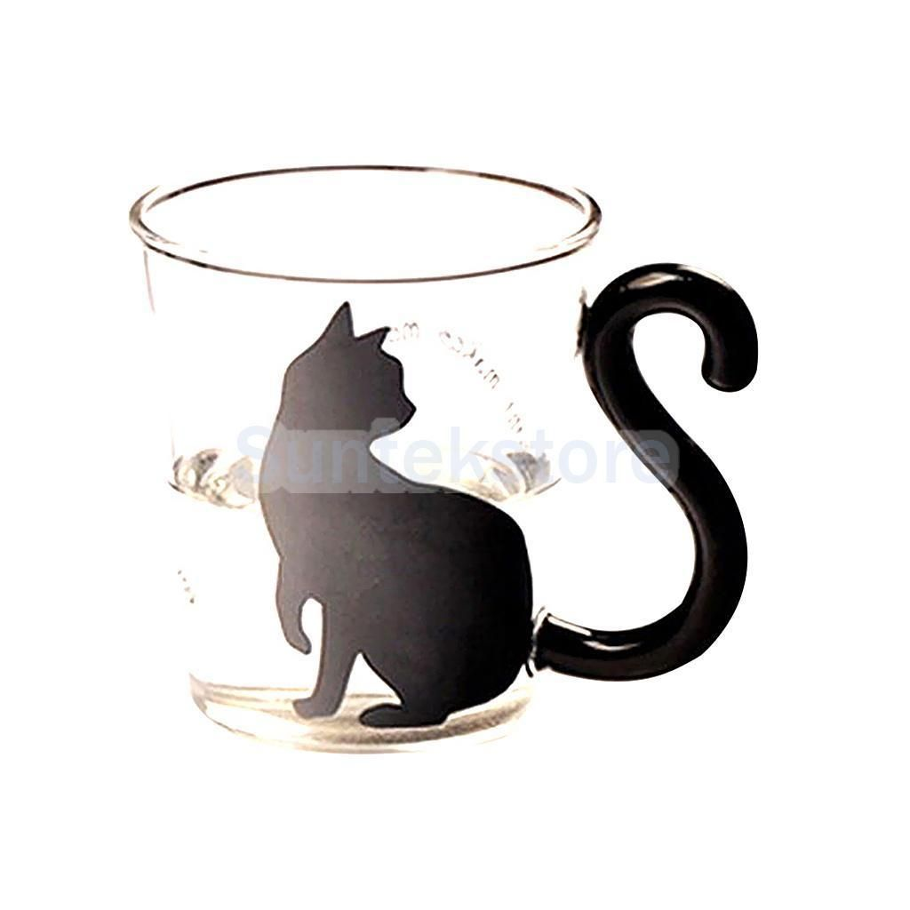 8 96 English Word Cat Kitten Juice Milk Water Clear Glass Cup Beverage Drink Mug Ebay Home Garden Glass Coffee Mugs Mugs Coffee Cups