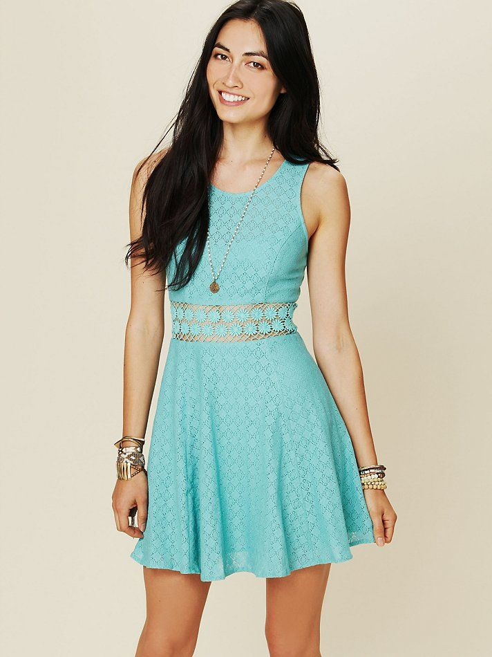 Free People Fitted With Daisies Dress at Free People Clothing ...