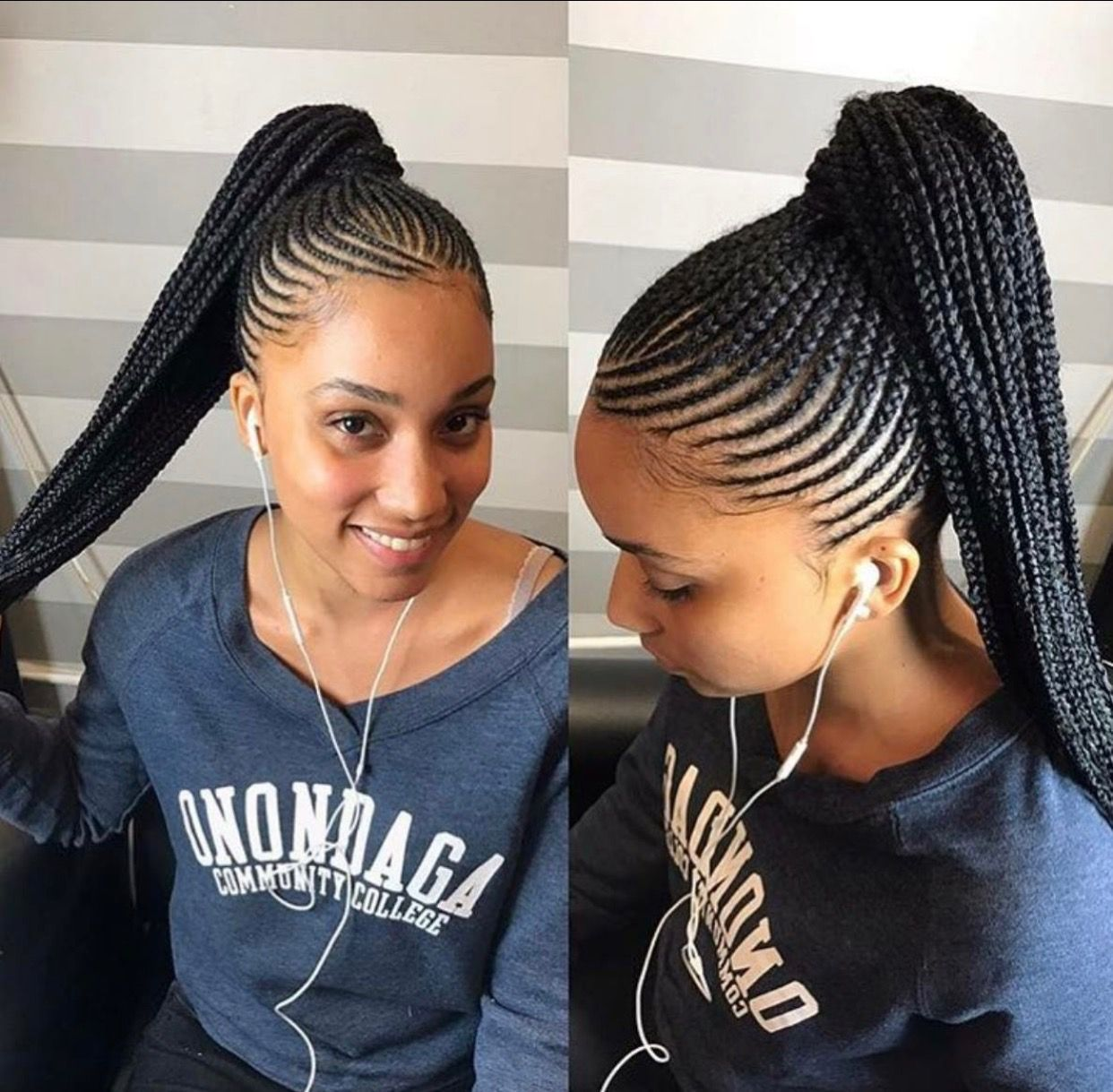 Braid Hairstyles For Black Women Prepossessing Pinevette Witherspoon On Hair  Pinterest  Cornrow Ghana