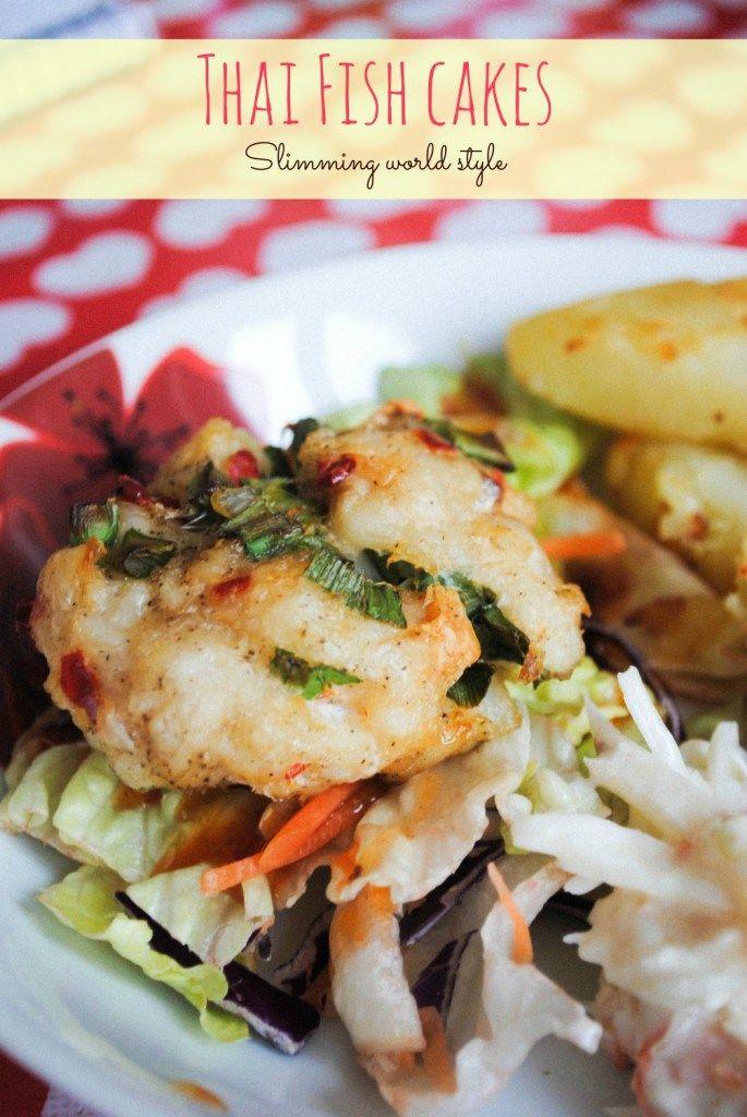 Slimming World Recipe Thai Fish Cakes