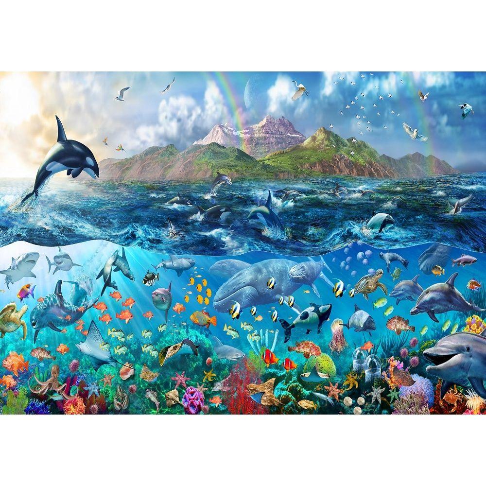 Rainbow tropical underwater ocean sea life wallpaper mural giant rainbow tropical underwater ocean sea life wallpaper mural giant decor amipublicfo Gallery