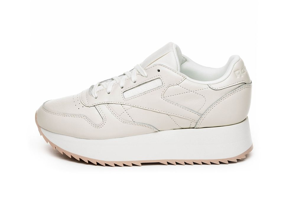 4ad6839ee3306 Reebok Classic Leather Double (Chalk   Bare Beige)  sneakers  sneaker   streetwear