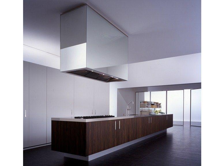 küche aus holzfurnier mit kücheninsel zone by boffi | design piero, Innenarchitektur ideen