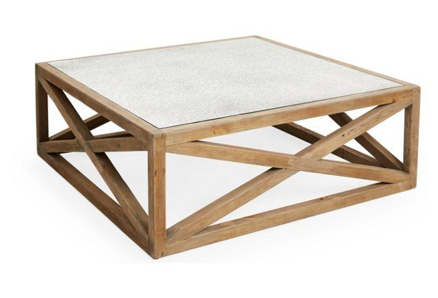 Manning 48 Square Coffee Table Natural The Barn Pinterest