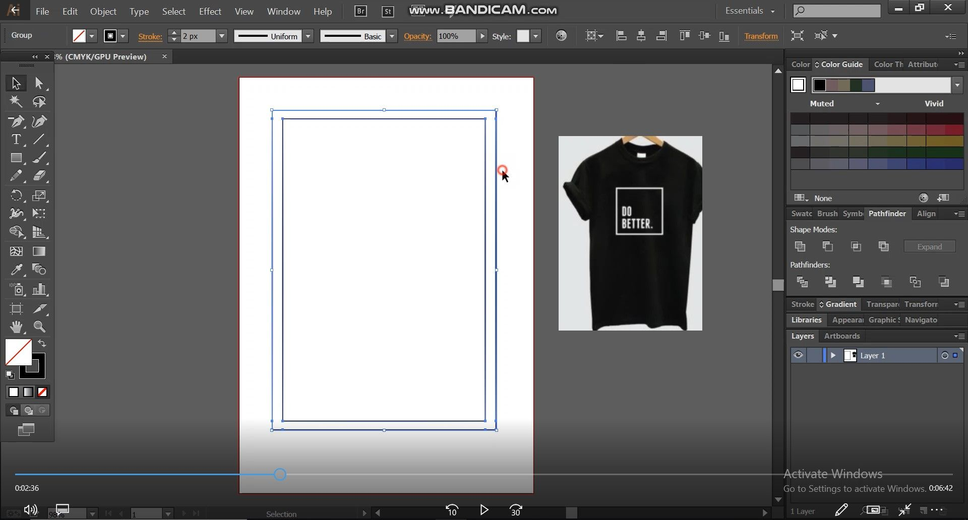 basic shape for t shirt design