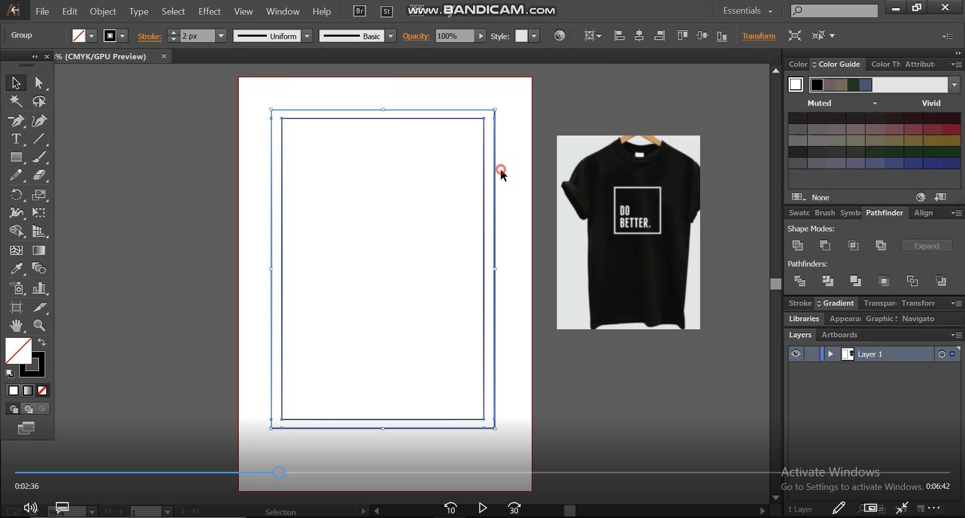 basic shape for t shirt design