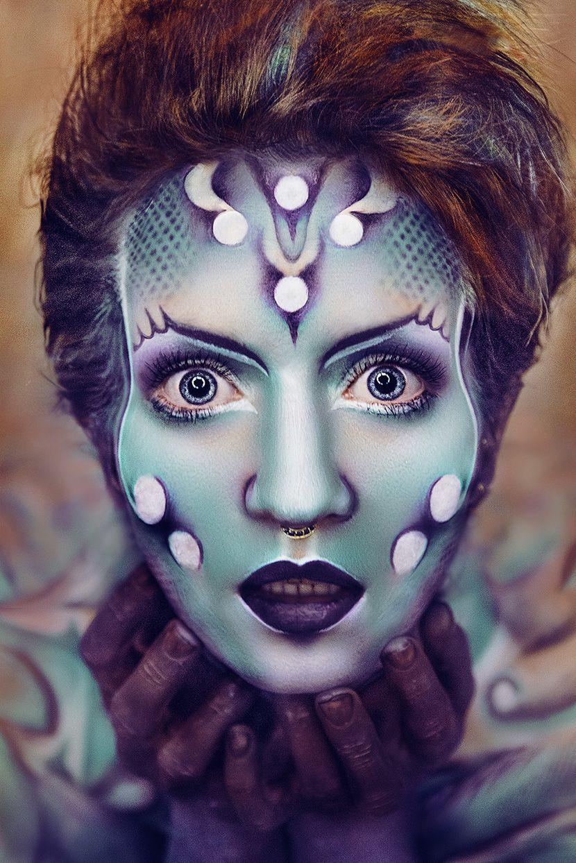 Sarina Mannaert Hair Makeup Body Painter