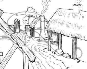 homework jamestown settlement coloring pages