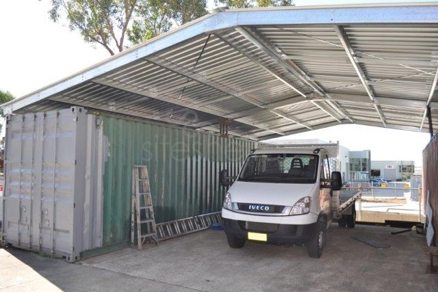 Hard Top Container Shelter Amp Shed Siteshelter 174 Diy