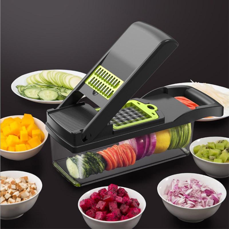 Adjustable Mandoline Slicer Vegetable Cutter Potato Onion Carrot Grater Chopper