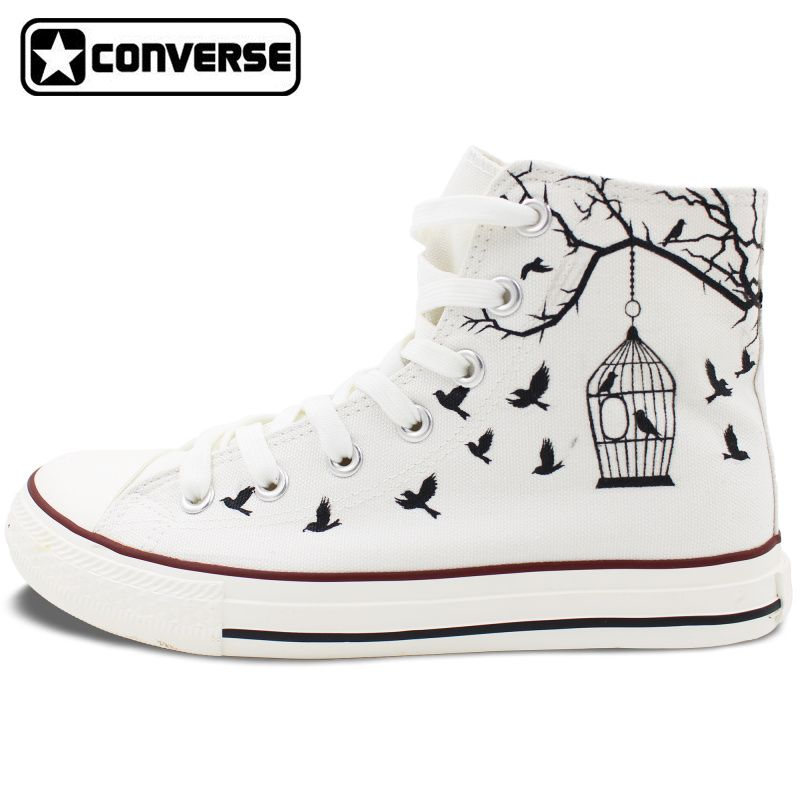 Zapatos negros vintage Converse All Star para mujer Wqx0s6hdnD