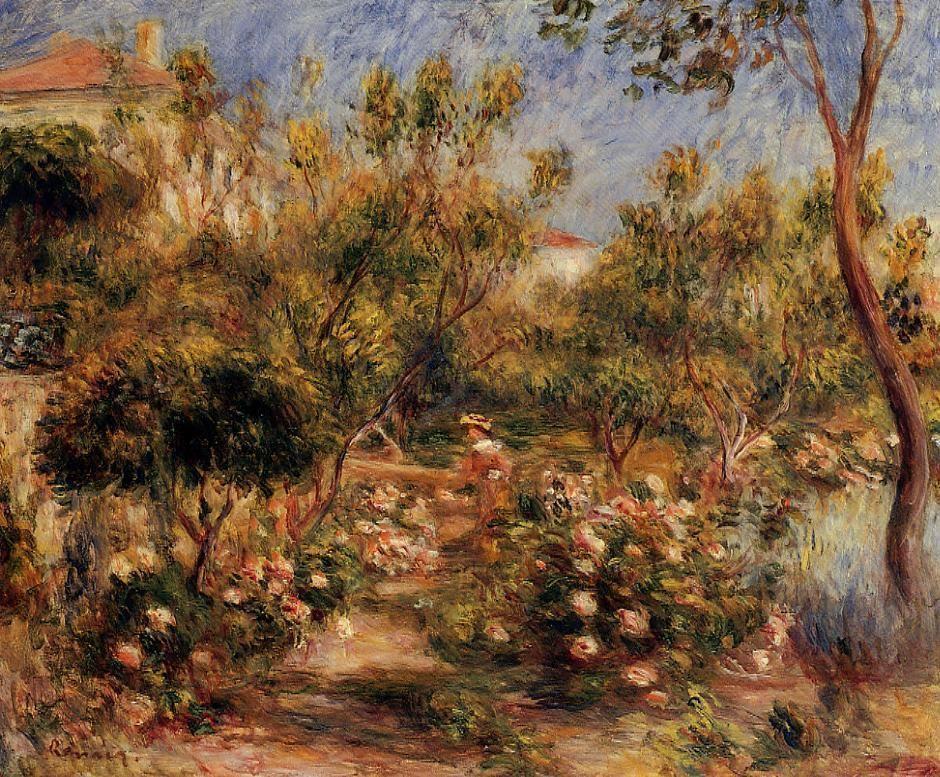 Pierre-Auguste Renoir, Naked Woman In A Landscape, Canvas