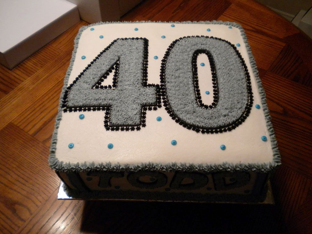 40th Birthday Cake Ideas For Men 40th Birthday Cakes For