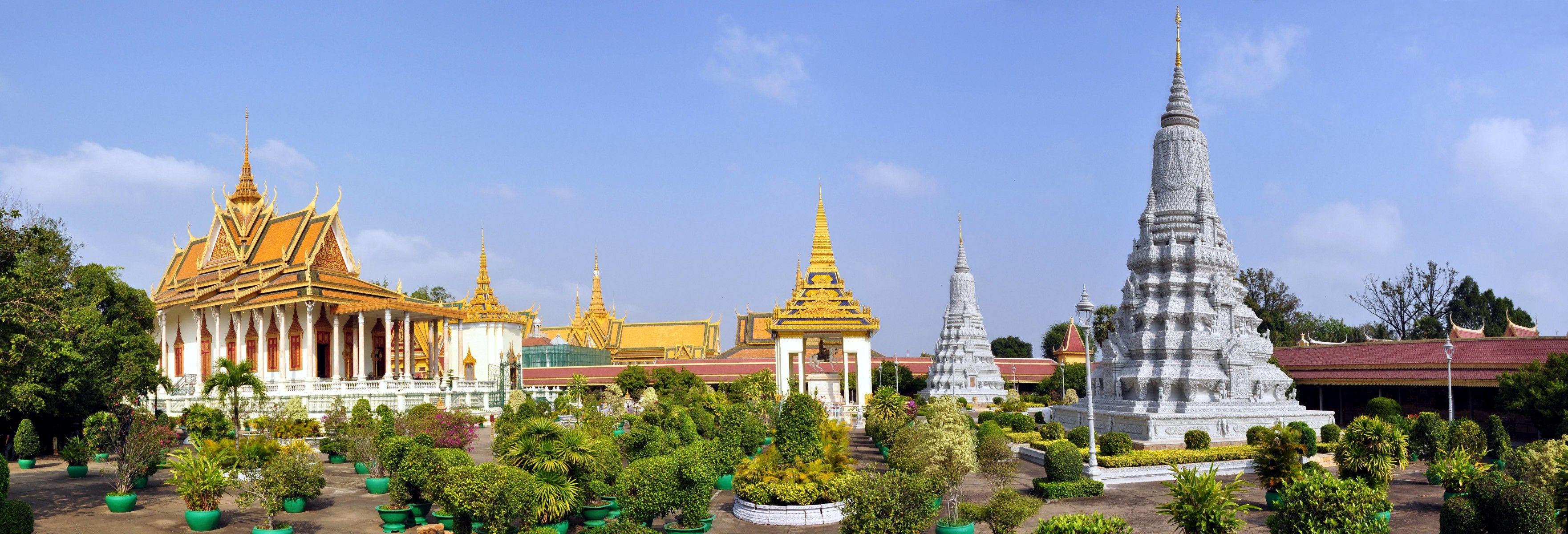 Phnom Penh royal palace, Cambodia Phnom penh, Cambodia