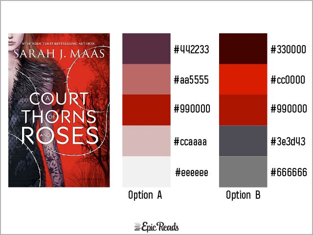 23 Exquisite Palettes Inspired By Our Favorite Ya Book Covers