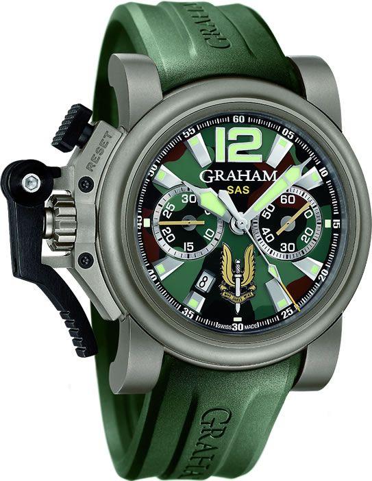 e1ffe498046 Graham Chronofighter Oversize Titanium SAS Watch Is Big ...
