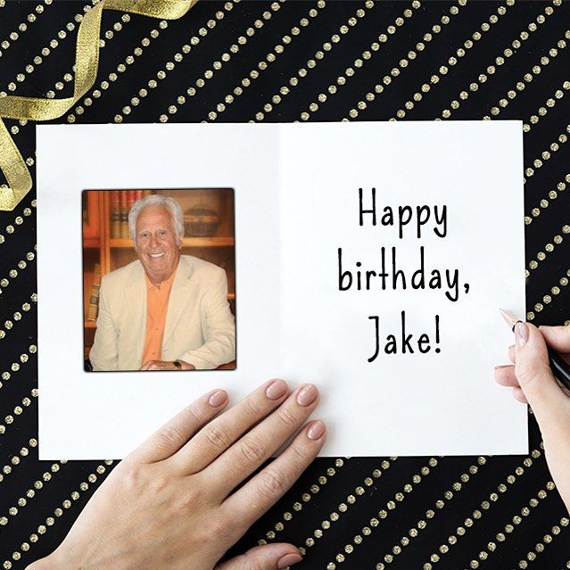 Happy 85th Birthday To Our Founder Jake Jabs SIGN JAKES BDAY CARD