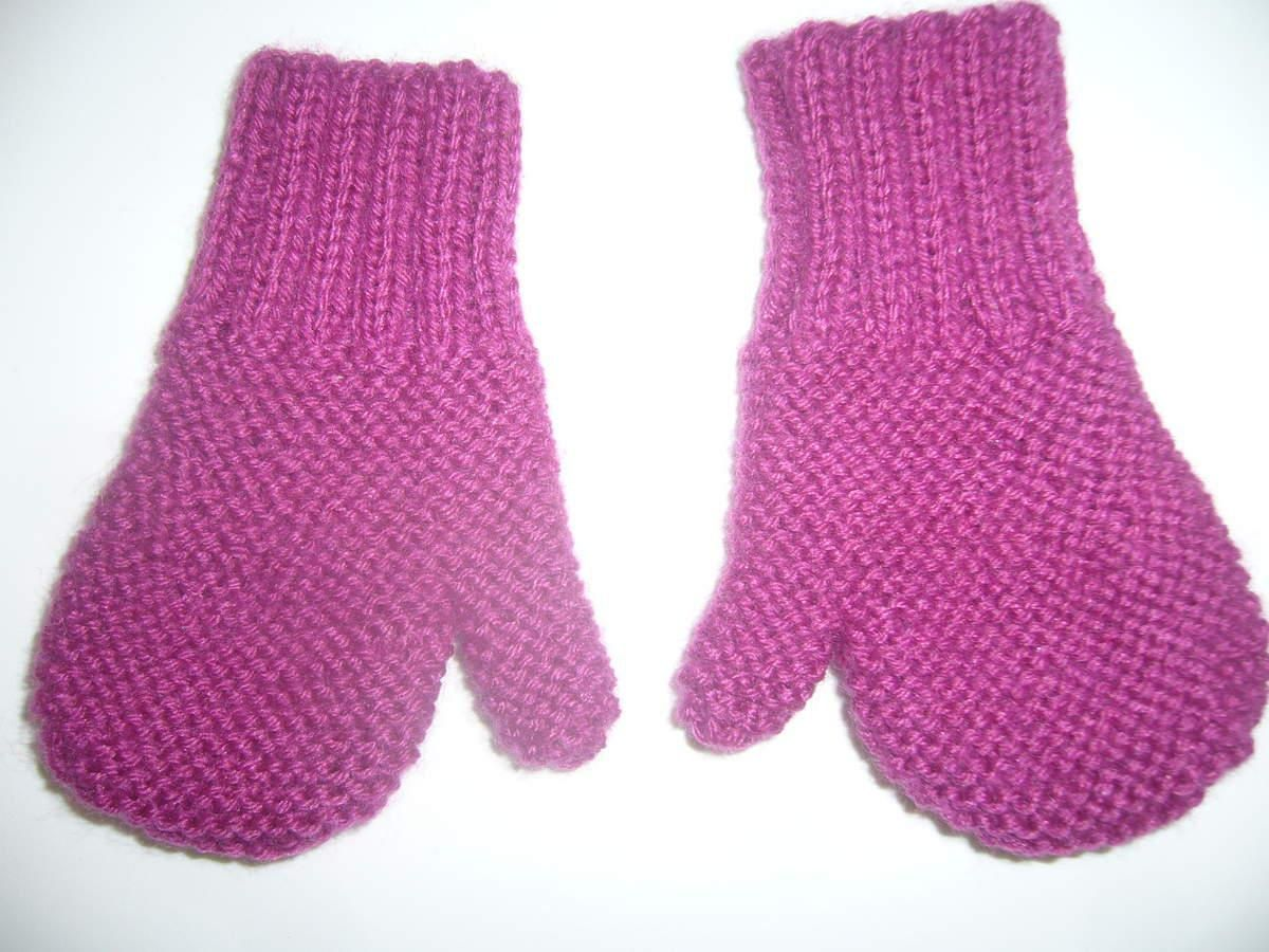 comment tricoter des moufles avec pouce