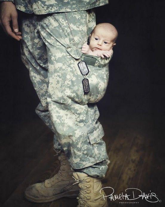 Military love baby