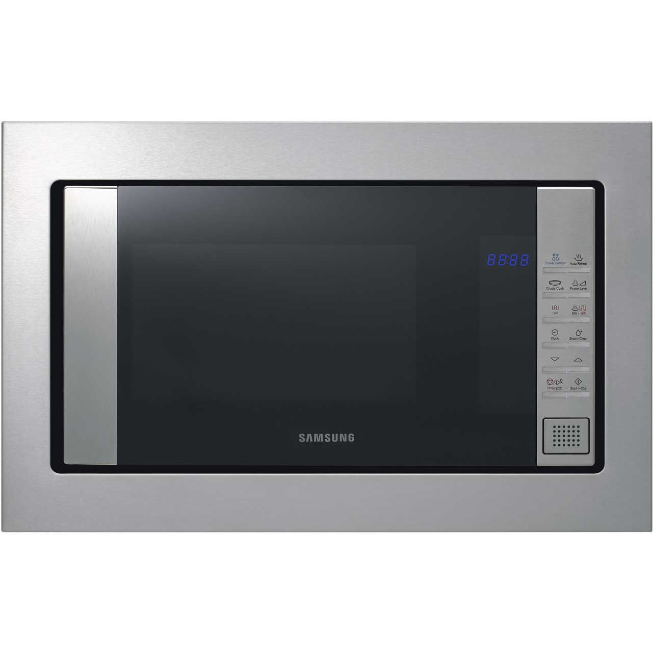 300 Samsung Fg87sust Built In Compact Microwave With Grill Stainless Steel