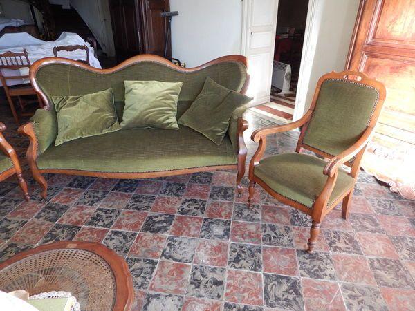 salon ancien | Style Louis-Philippe | Pinterest | Salons