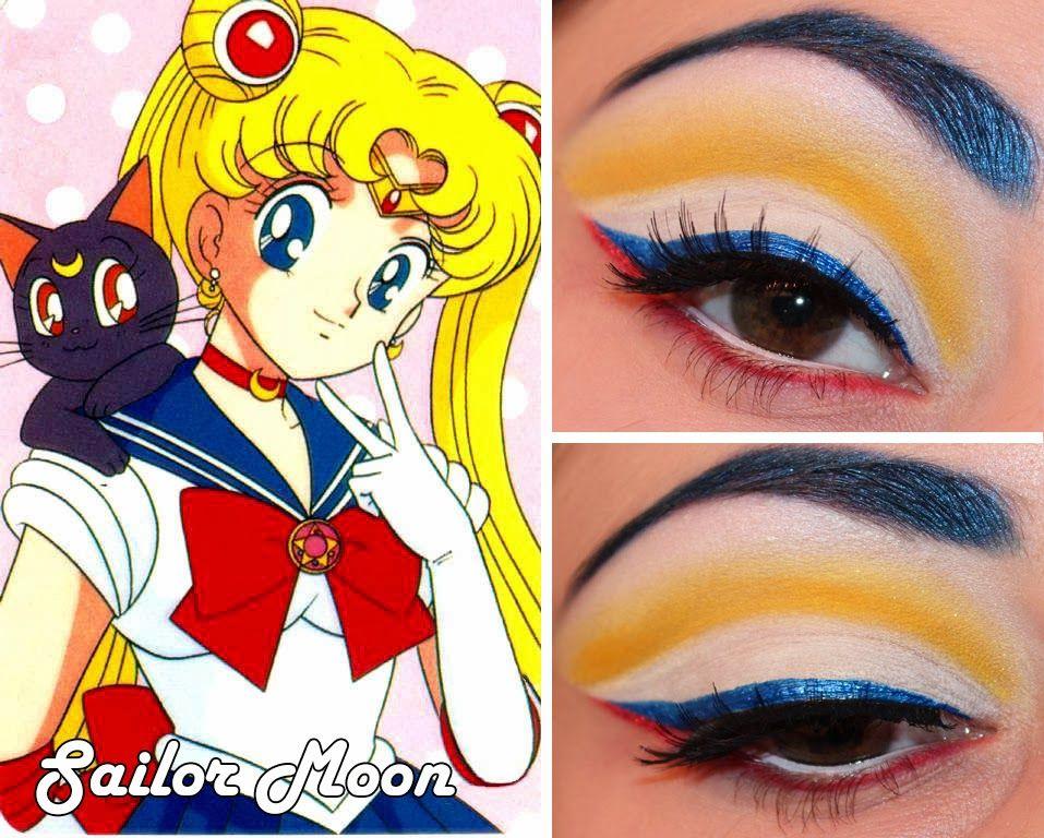 Luhivy S Favorite Things Sailor Moon Makeup Sailor Moon Makeup Inspiration