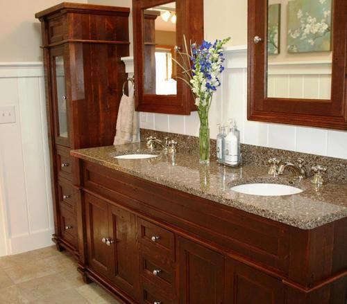 Antique Bathroom Vanity In 2020 Rustic Bathroom Vanities Built