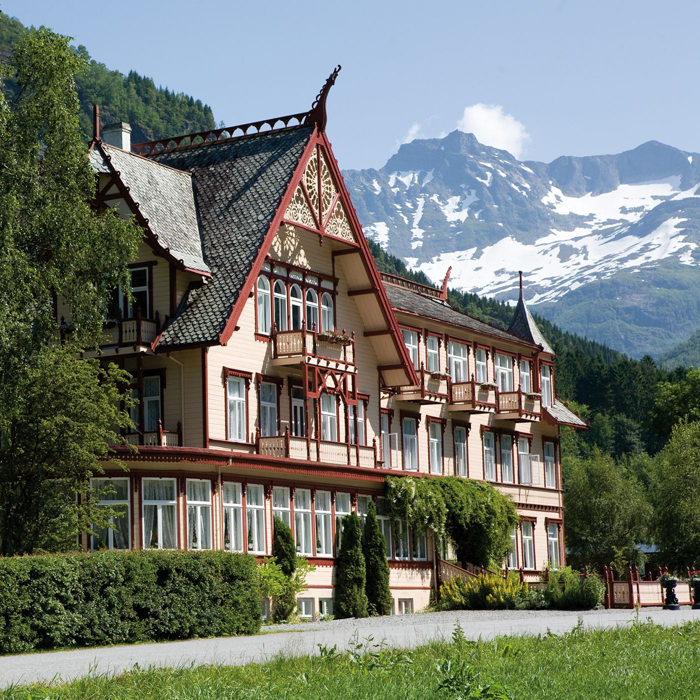 The norwegian hotel chain dehistoriske includes some of for Charming hotels