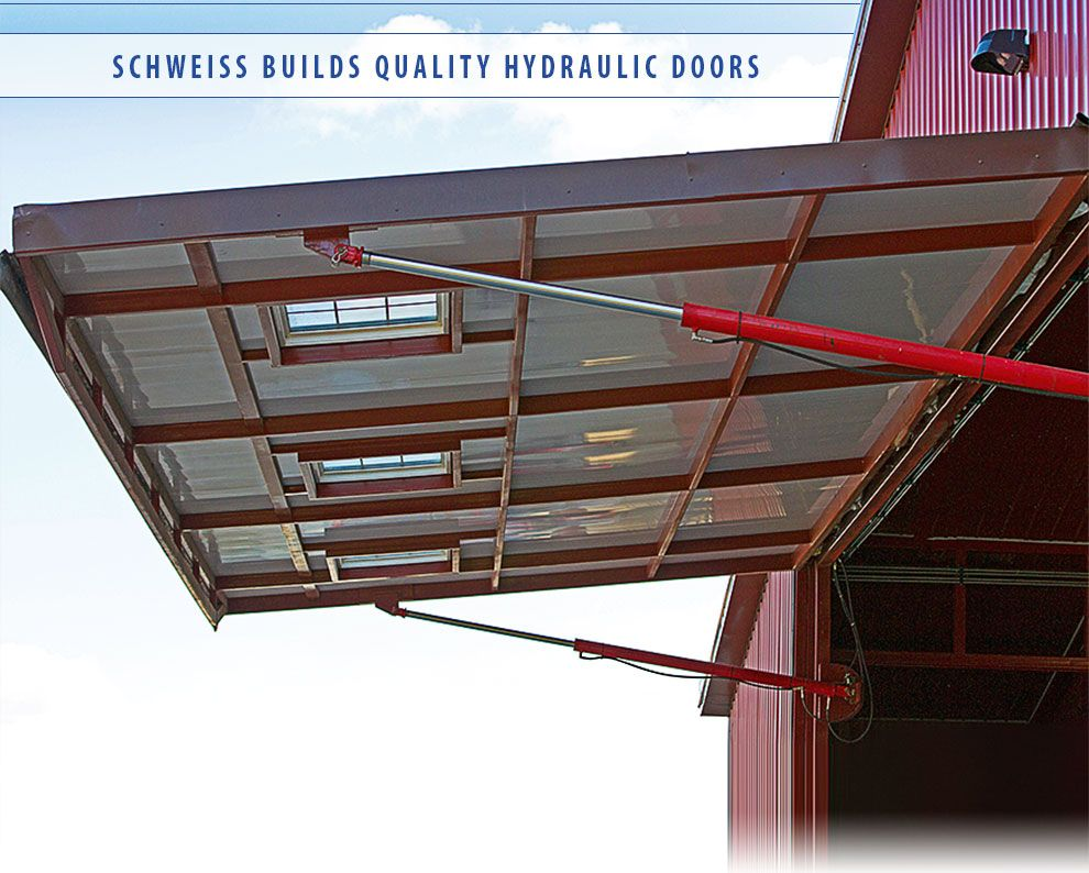 Schweiss all steel hydraulic door & Schweiss all steel hydraulic door | shop-garrage | Pinterest | Doors ...