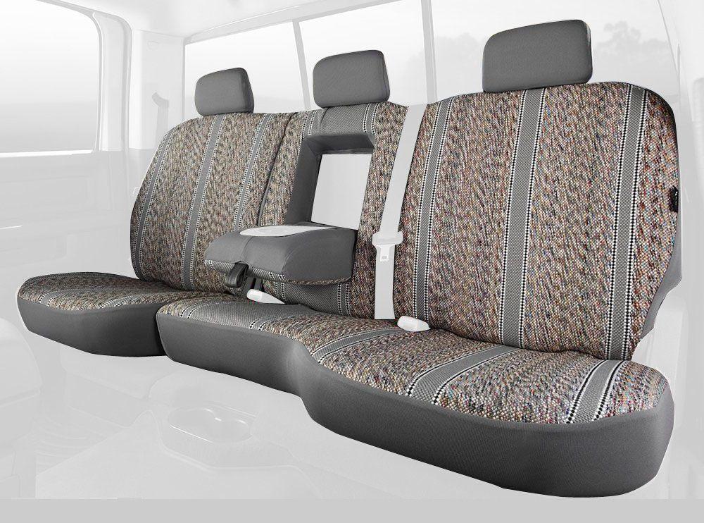 Fia TR42-37 BLACK Custom Fit Rear Seat Cover Split Seat 60//40 Black Saddle Blanket,
