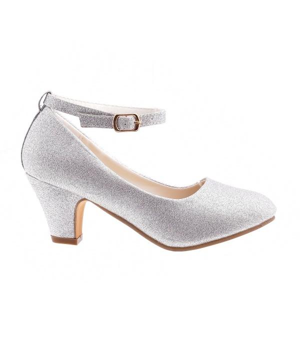 Pin By Styloweobcasy On Buty Dzieciece Heeled Mules Shoes Heels