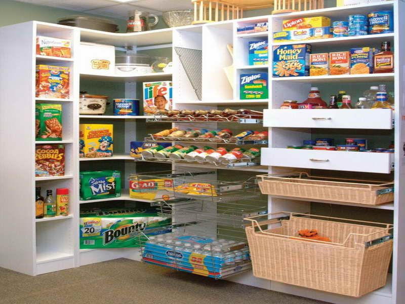 Kitchen Pantry Ideas Offer The Alternative Of Arranging For Space