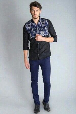 Men's Fashion (Ikat motive from Indonesia)