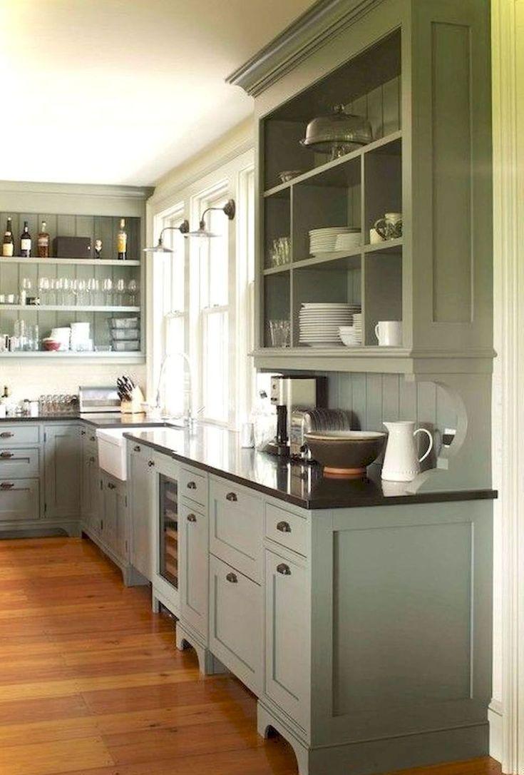 29 Painted Kitchen Cabinet Ideas Farmhouse Kitchens Kitchen