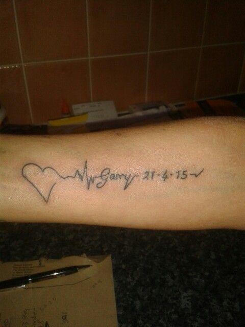 Had This In Loving Memory Of My Husband X Memorial Tattoos