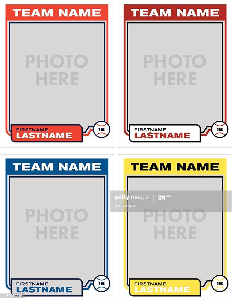Create Your Own Baseball Cards With These Great Templates Add Your Trading Card Template Baseball Card Template Card Templates Free